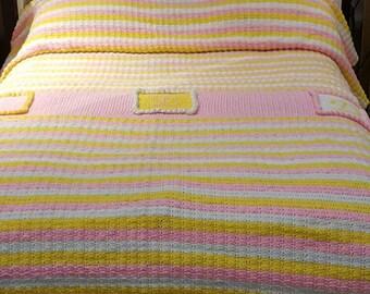 Monogrammed Princess Twin Bedspread