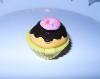 Chocolate Frosted Cupcake lip balm
