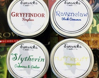 Hogwarts House Harry Potter Candles Set