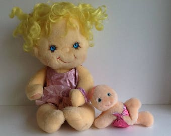 Vintage Kenner HUGGA BUNCH Precious Hugs Doll