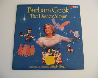 Barbara Cook - The Disney Album - Circa 1988