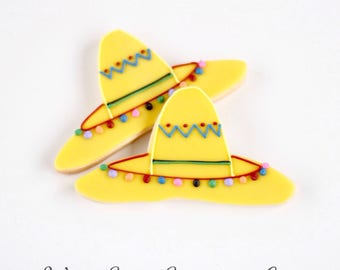 Half Dz. Sombrero Cookies! Authentic Mexican Style!