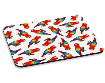 Parrot Pattern PC Computer Mouse Mat Pad