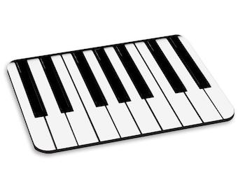 Piano Keys Keyboard PC Computer Mouse Mat Pad