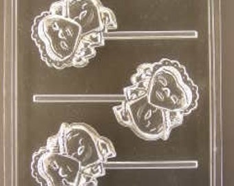 Happy Hearts Valentines Day Chocolate Mold