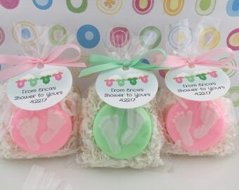 baby shower soap favors baby feet soap favors shower favors baby shower favors
