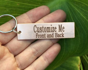Personalized Keychain, Create Your Own, Custom Keychain, Personalize your own, Boyfriend Keychain, Gift For him