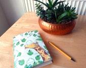Giraffe Dreams - A5 Notebook