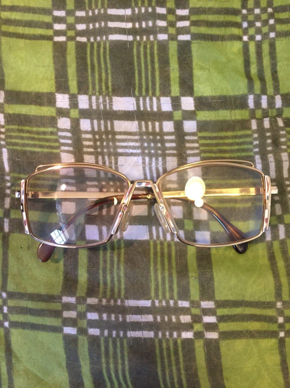 336e67e695 Rare Vintage Cazal Gold tone Eyeglasses Frames