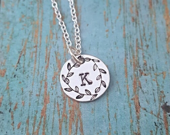 Initial Necklace - Personalized Neckace - Necklace - Women's Jewelry - Gift for Girls - Gift for Teens - Gift for Women - Gift for Her