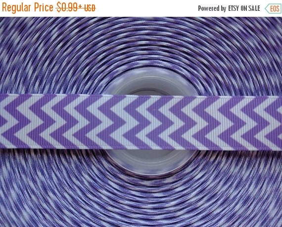 "SUPER SALE LAVENDER 7/8"" 22mm Grosgrain Hair Bow Craft Ribbon 782667"