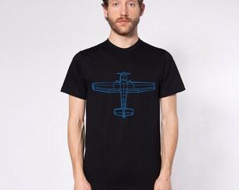 KillerBeeMoto: Cessna Recreational Aircraft Short Or Long Sleeve Shirt Cartoon Version