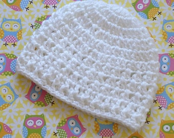 crochet baby beanie, baby beanie hat, crochet beanie hat, newborn hat girl, crochet girls beanie, winter beanie hat, crochet hat