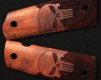 Handmade Laser Engraved Full Sized 1911 Grips