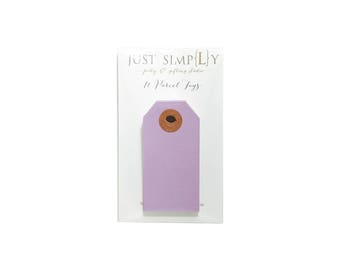 BOTO! Parcel Tags - Violet - Set of 10