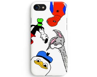 Gooby Gang - iPhone 7 case, Samsung galaxy S8 case iPhone 6 iphone 7 plus samsung galaxy S7 iphone SE 1P029A