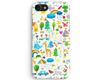 Kids weird thoughts - iPhone 7 case, Samsung galaxy S8 case iPhone 6 iphone 7 plus samsung galaxy S7 iphone SE 1P167