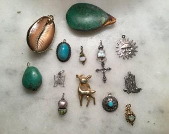Pendants Sold Separtely Also Repurposed Vintage Jewelry