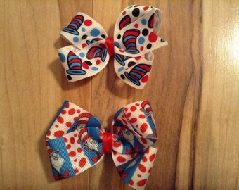 Cat in The Hat Bows