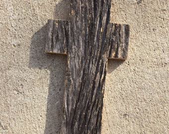 Barnwood Cross Shape - Authentic Untouched Sign