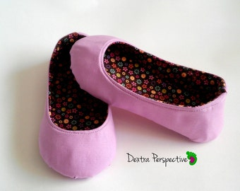 Easter Shoes for Children (and Adults) - Barefoot Shoes with Leather or Rubber Sole, Flat shoes for Kids