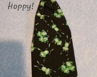Hoppy Frog Dog Tie add on