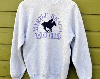 Vintage 90's Myrtle Beach Polo Club Sweatshirt