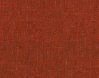 Exotic Garden Weave - Brick by Kona Bay (EXOT06-BRI) Cotton Fabric Yardage