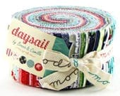 "DAYSAIL Jelly Roll - 2.5"" Strips - Bonnie and Camille - Moda Precuts - IN STOCK"