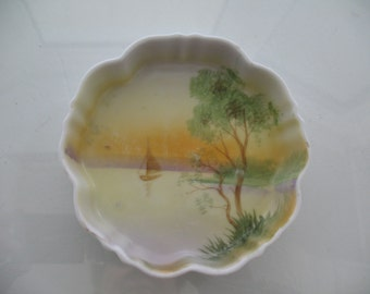 Antique Hand Painted Nippon Dish
