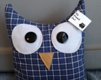 My Friend Owl pillow-medium