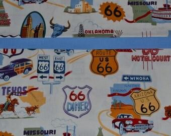 Route 66 Pillowcase