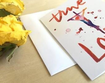 True Love Note Cards