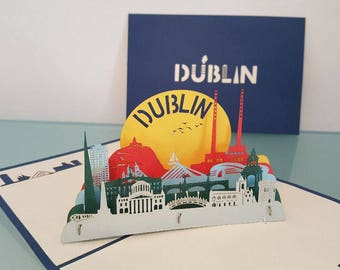 Dublin's Fair City, Pop Up Card