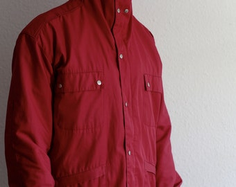 Aschia Sport Made in Italy Vintage Retrò Red Jacket 80s 90s