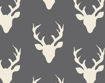 Hello Bear - Buck Forest Moonstone - Bonnie Christine - Art Gallery Fabrics (HBR-4434-9)