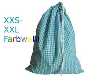 Fabric DrawString tote bag