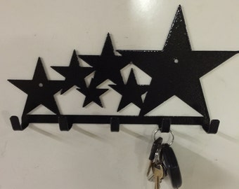 Star, key holder, gift, Texas decor, home and living , Texas star, home decor, office decor, Texas, stars, METAL ART