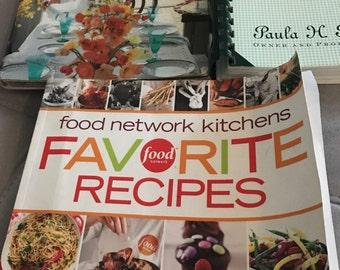 Lot of 3 Cookbooks Martha Stewarts Paula Deen Food Network Recipes