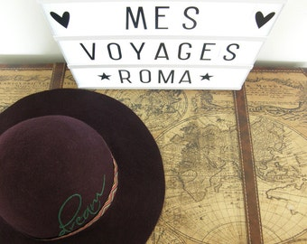 Felt Hat Roma, many colors