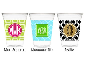 Monogrammed Solo Cup Huggies-Personalized Solo Cup Huggies-Customized Solo Cup Huggies-Personalized Huggies-Monogrammed Huggie-Custom Huggie