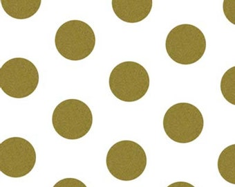 Gold Metallic Dots Tissue Paper 12 Sheets Premium Tissue Paper for Craft Projects, Gift Wrapping, and DIY