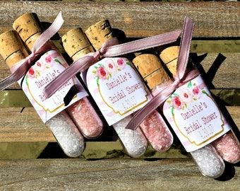 Party Favors,Bath Salt Favors,Bridal Baby shower favors party supplies
