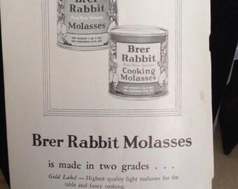 Vintage Brer Rabbit's  Molasses Recipes