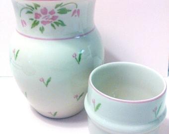 Flower Vase 2 piece Telaflora Vase flower vase flowers ceramic Vase vintage Telaflora Vase shabby chic