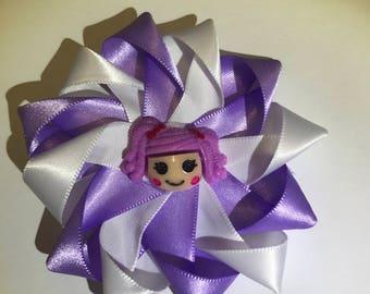 Round hair bows