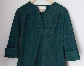 Vintage Sears Tweed Blouse