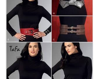 Vogue Sewing Pattern V9222 Misses' Belts in Five Styles