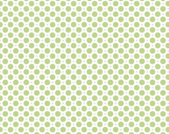 Green Gingham One Yard Cut from Sew Cherry 2 by Lori Holt for Riley Blake Fabrics