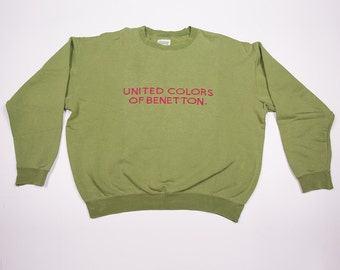 Vintage United Colors of Benetton 90s Vintage Sweater Jumper
